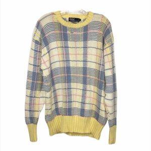 Vintage Polo Ralph Lauren Pastel Chunky Sweater XL